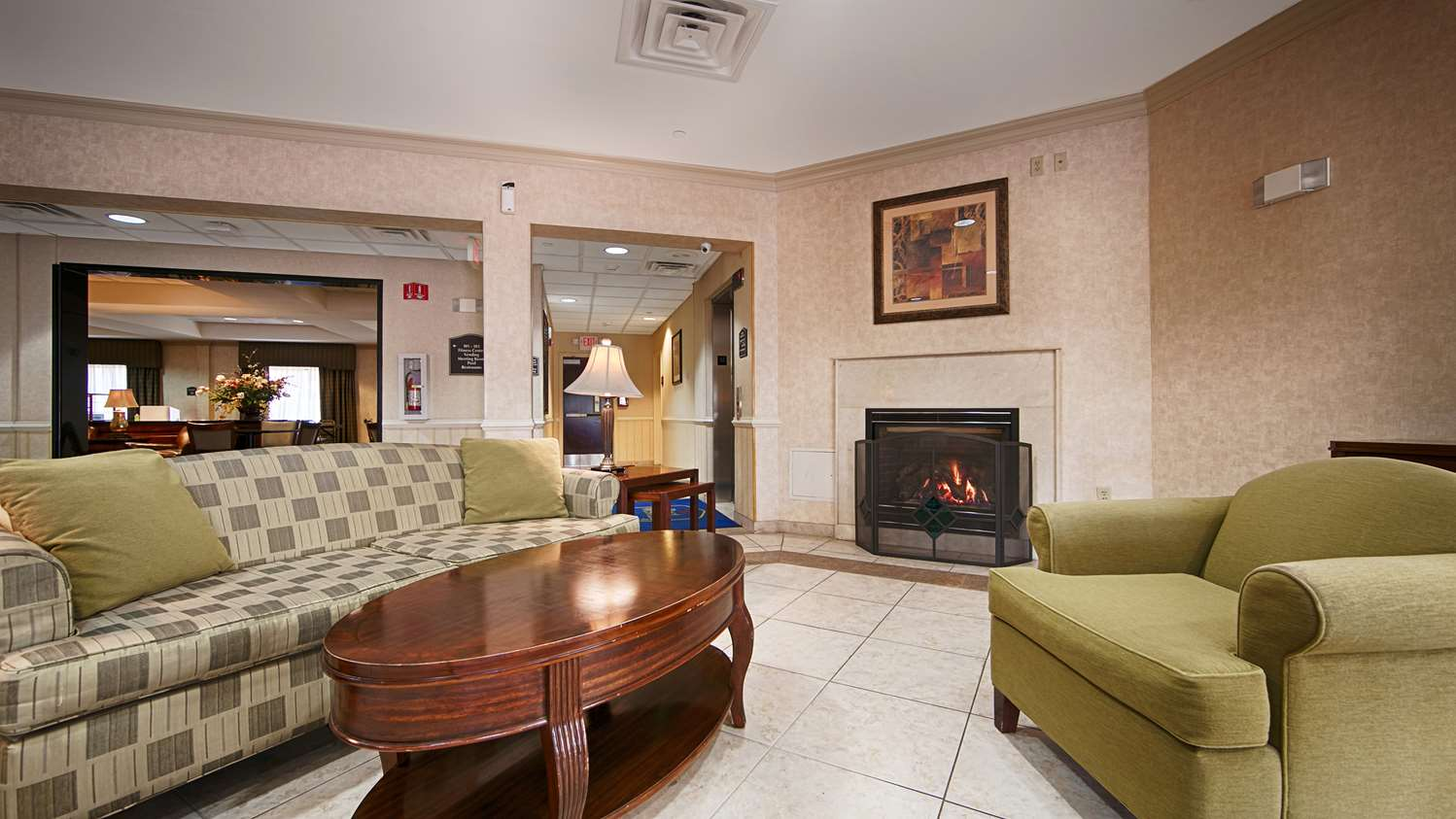Lobby - Best Western Riverview Inn Suites Rahway