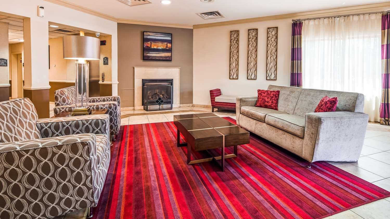 Lobby - Best Western Riverview Inn Suites Rahway