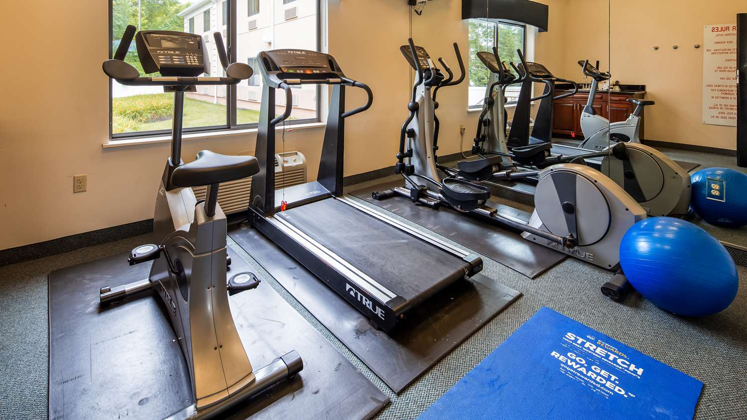 Fitness/ Exercise Room - Best Western Monroe Inn & Suites Williamstown