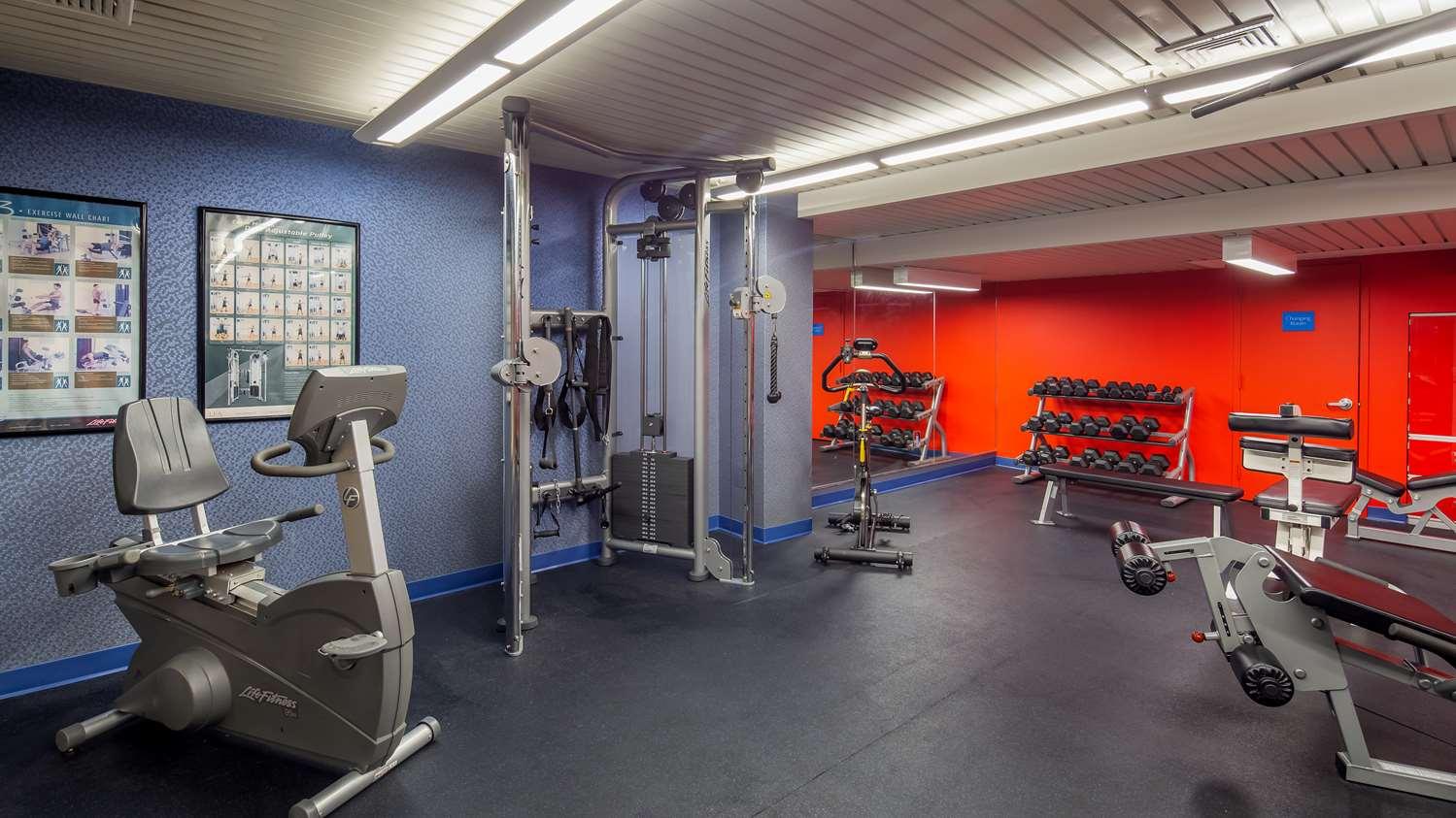 Fitness/ Exercise Room - Best Western Plus Robert Treat Hotel Newark
