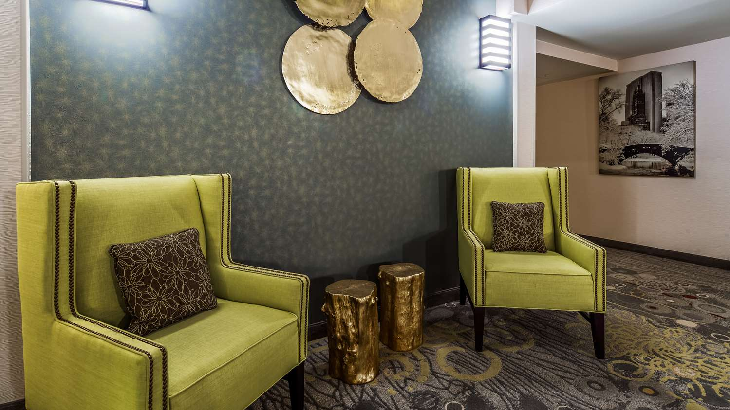 Lobby - Best Western Premier NYC Gateway Hotel North Bergen