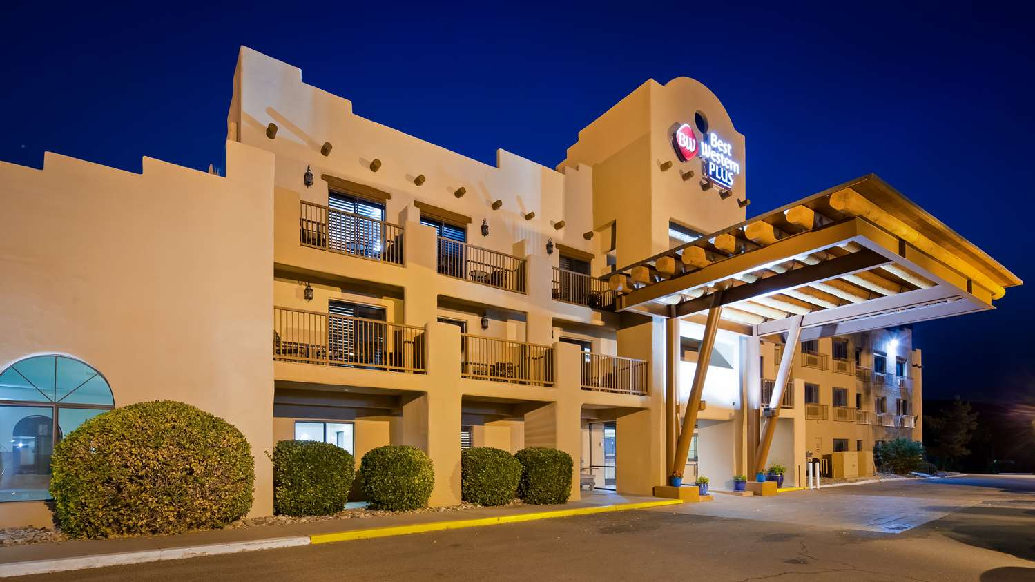 Exterior view - Best Western Plus University Inn Santa Fe