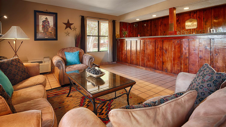 Lobby - Best Western Pine Springs Inn Ruidoso