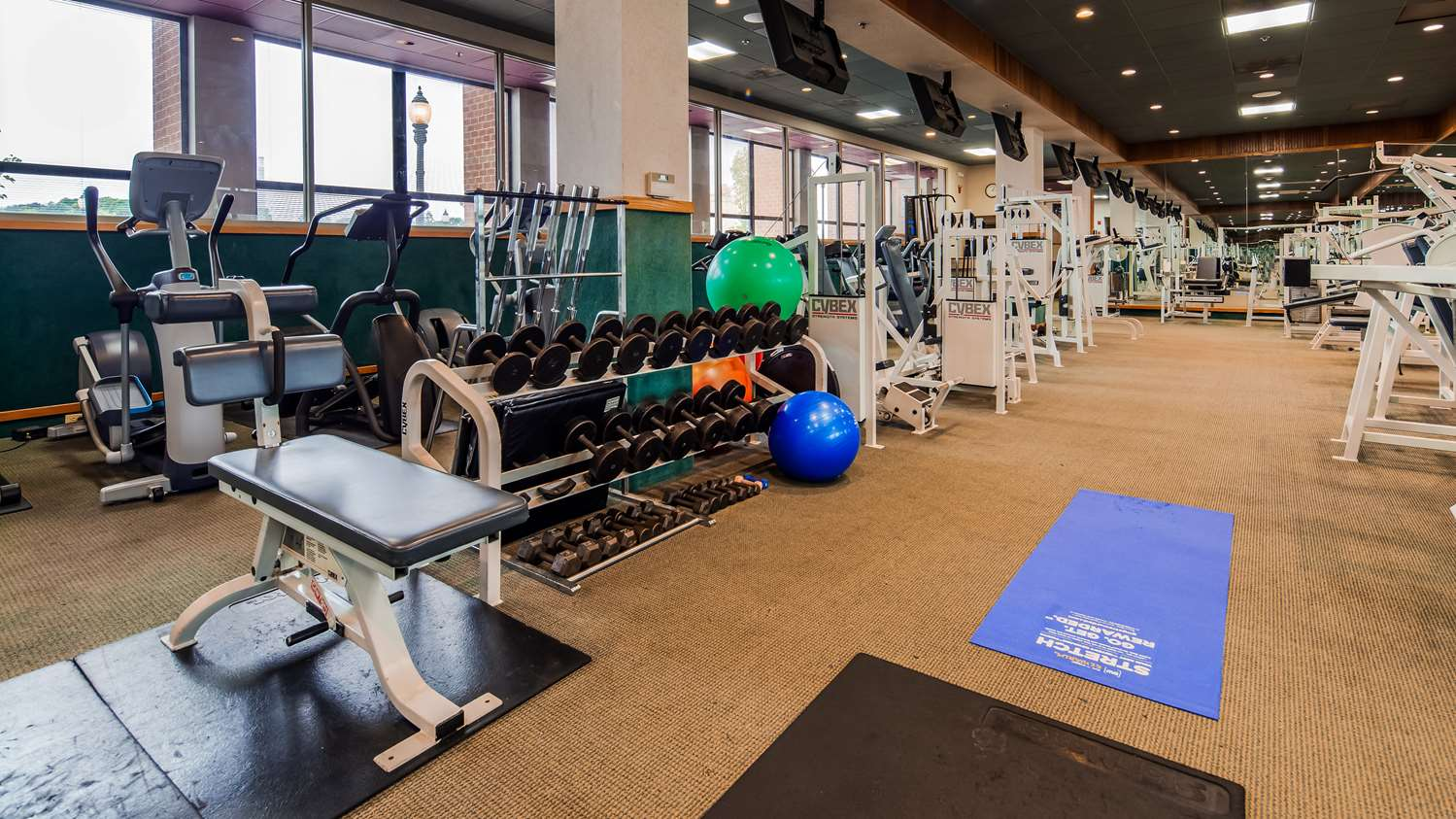 Fitness/ Exercise Room - Best Western Plus Oswego Hotel & Conference Center