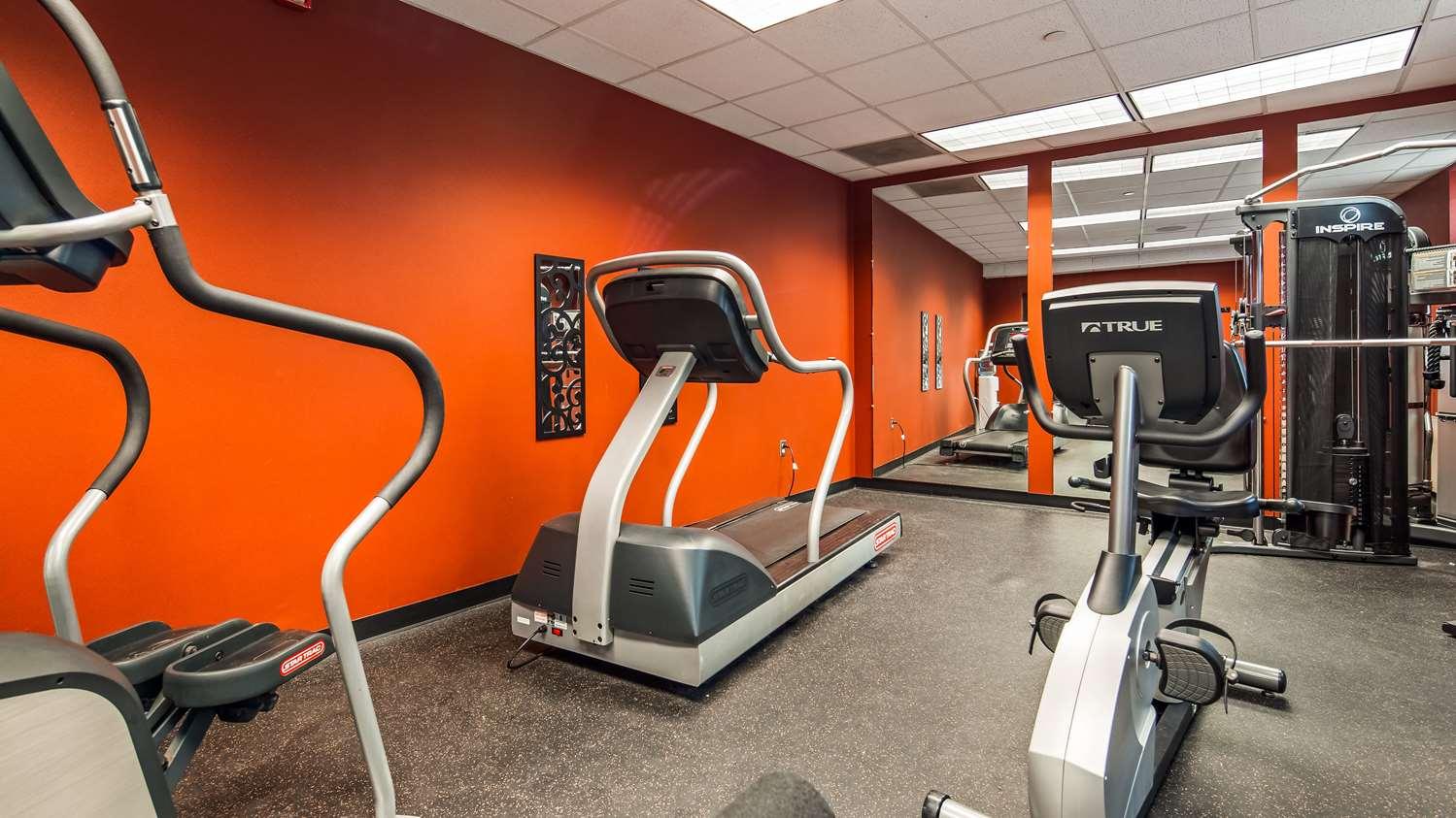 Fitness/ Exercise Room - Best Western Watertown Fort Drum Hotel