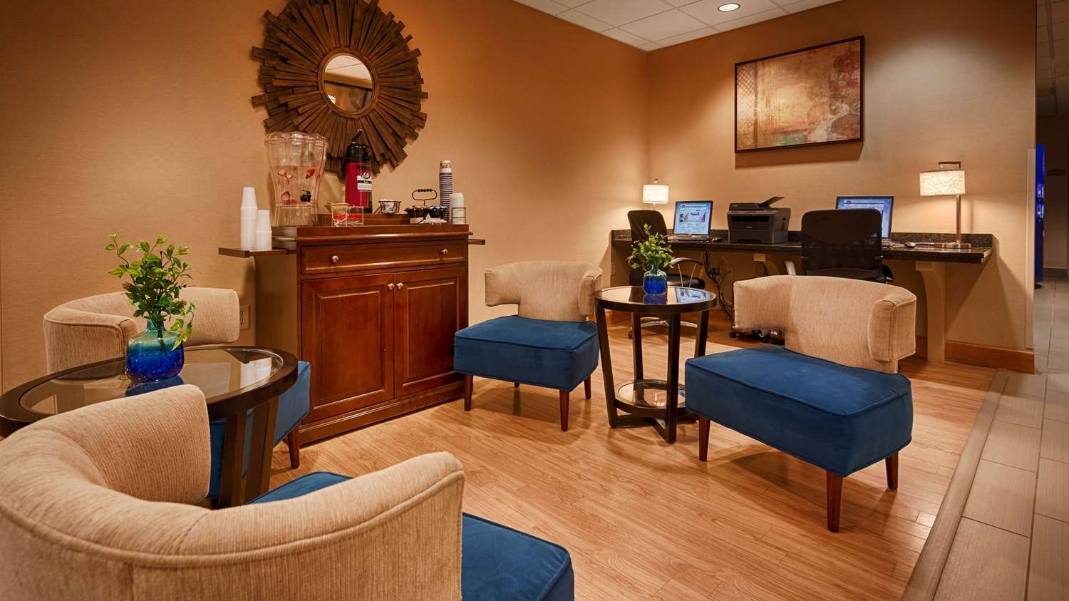 Lobby - Best Western Plus University Inn Olean