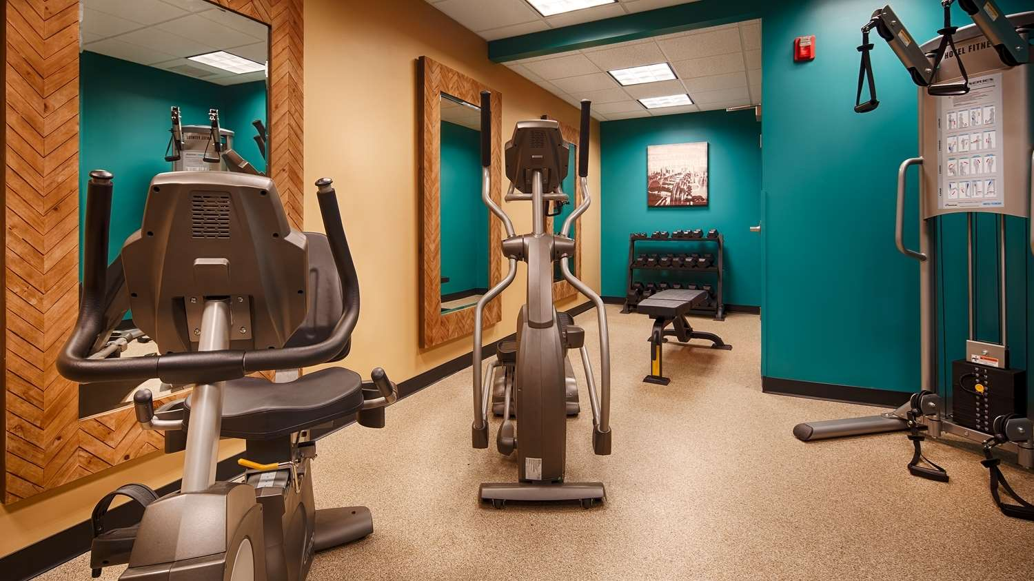 Fitness/ Exercise Room - Best Western Plus University Inn Olean