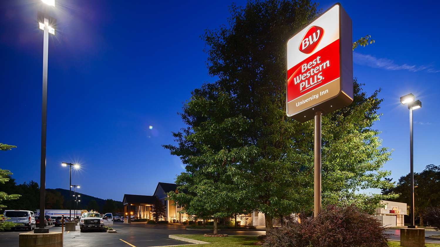 Exterior view - Best Western Plus University Inn Olean