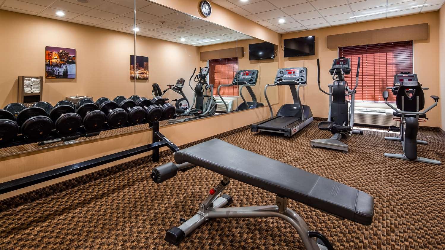 Fitness/ Exercise Room - Best Western Plus Victor Inn & Suites