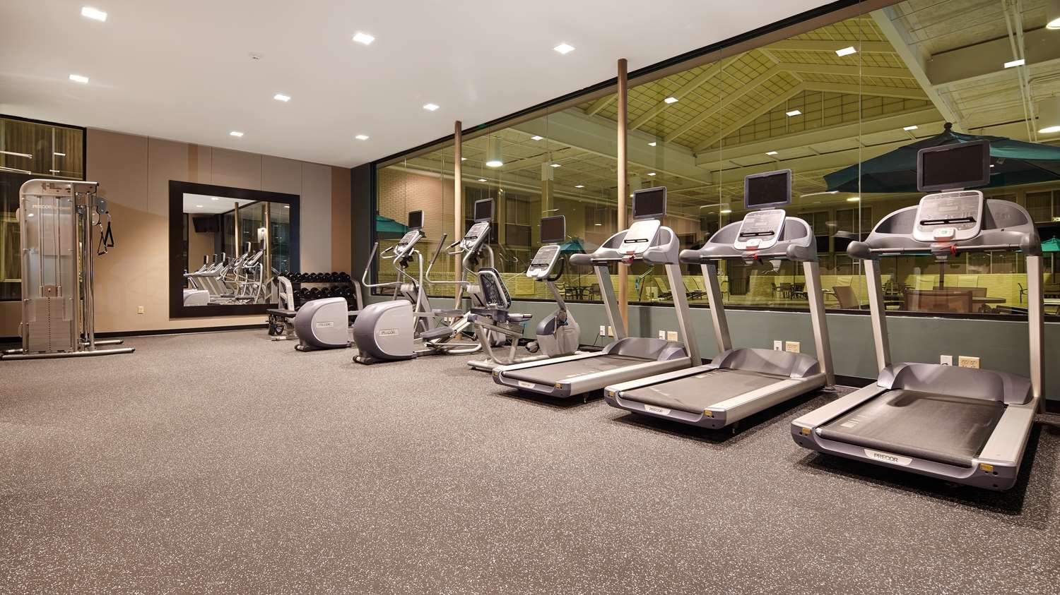 Fitness/ Exercise Room - Best Western Plus Hotel & Conference Center Kingston