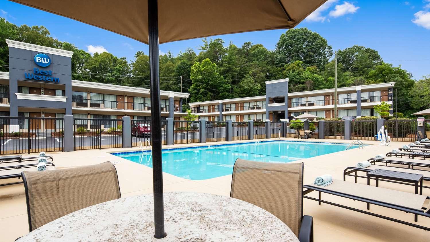 Pool - Best Western Inn East Asheville
