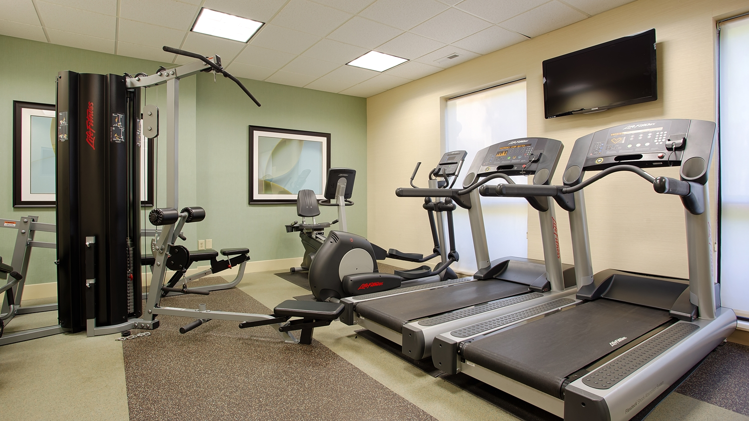 Fitness/ Exercise Room - Best Western Plus Cary Inn