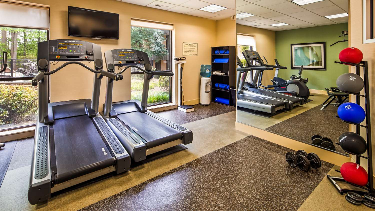 Fitness/ Exercise Room - Best Western Plus Cary Inn