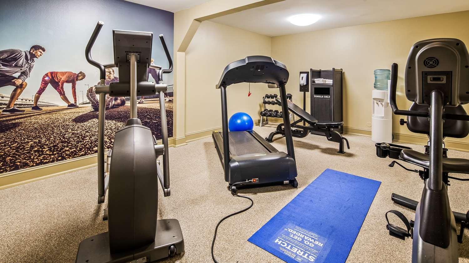 Fitness/ Exercise Room - Best Western Plus Coastline Inn Wilmington