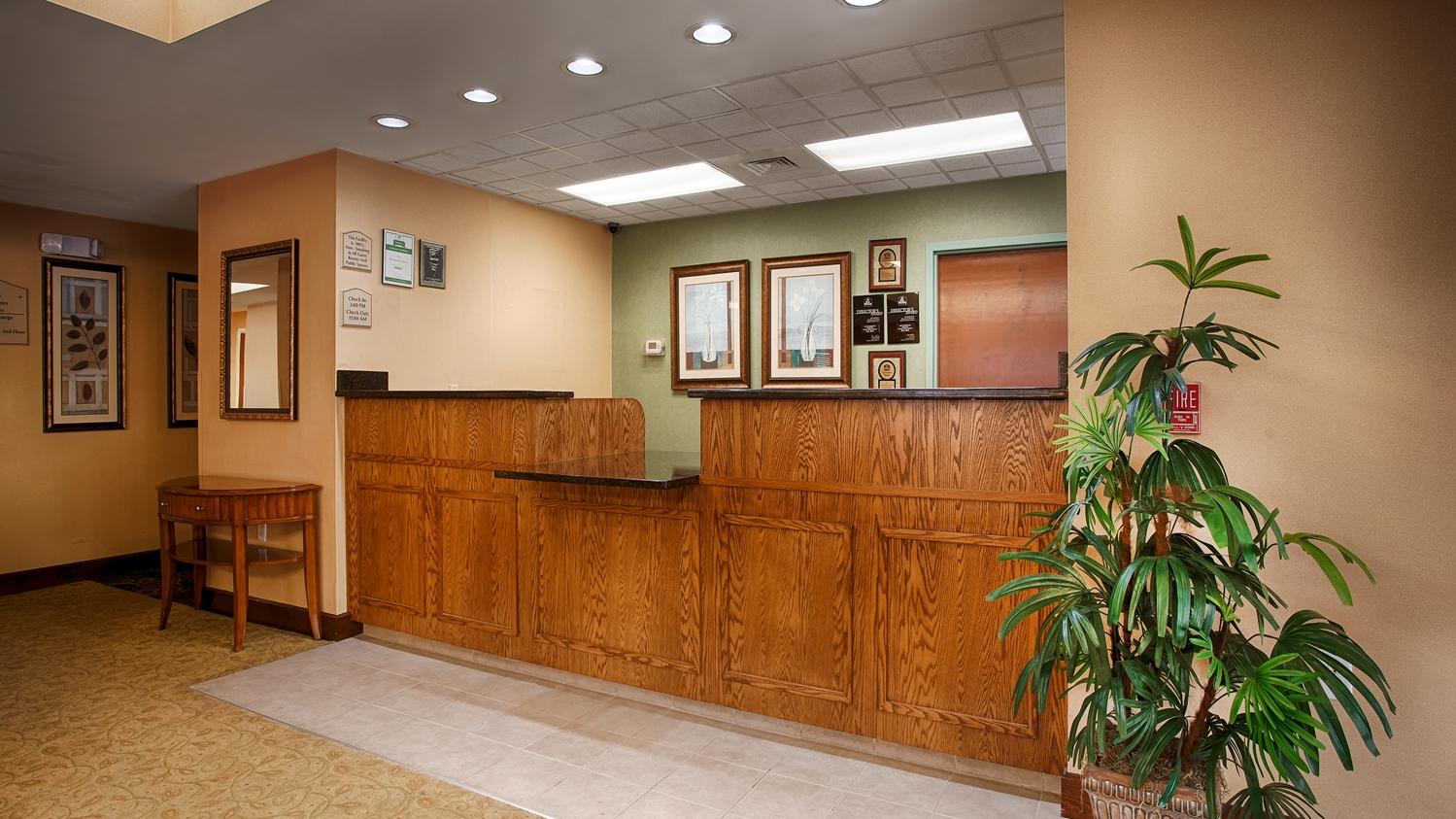 Lobby - Best Western Plus Edison Inn Garner