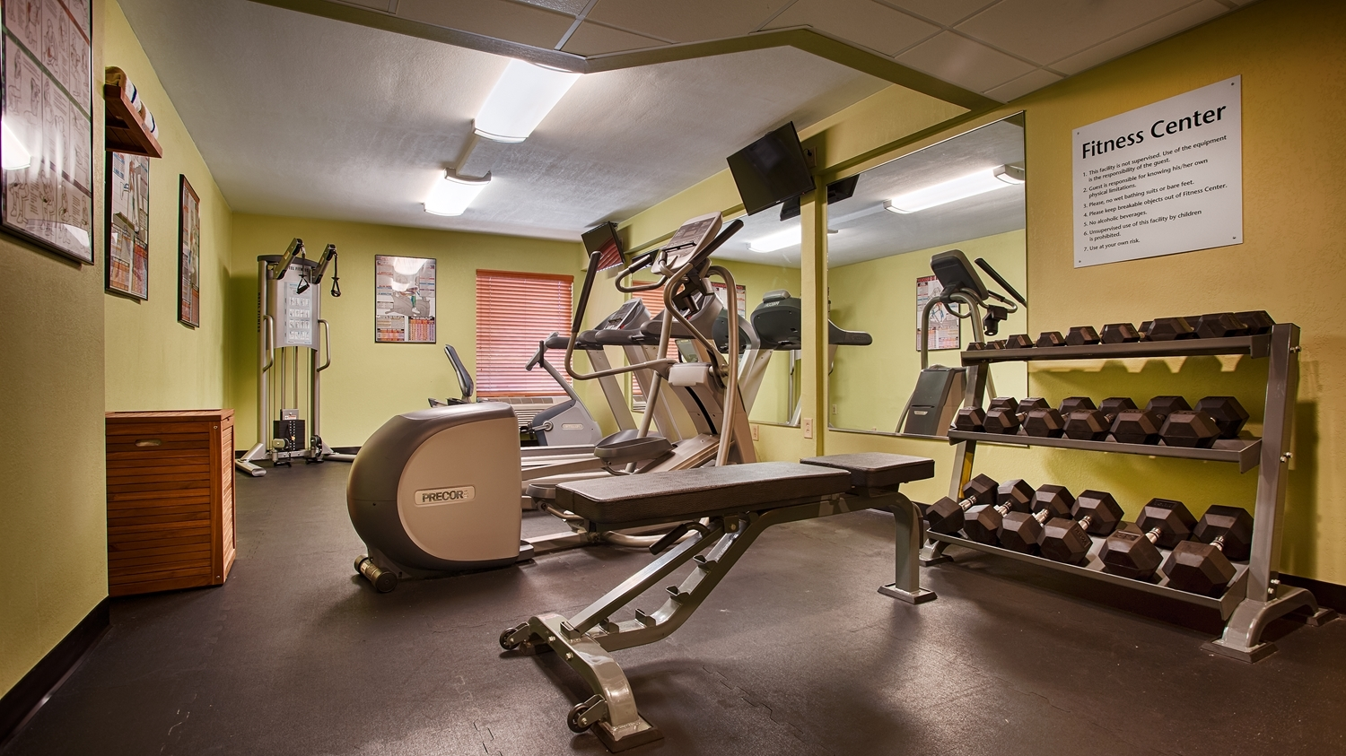 Fitness/ Exercise Room - Best Western Plus Goldsboro Hotel