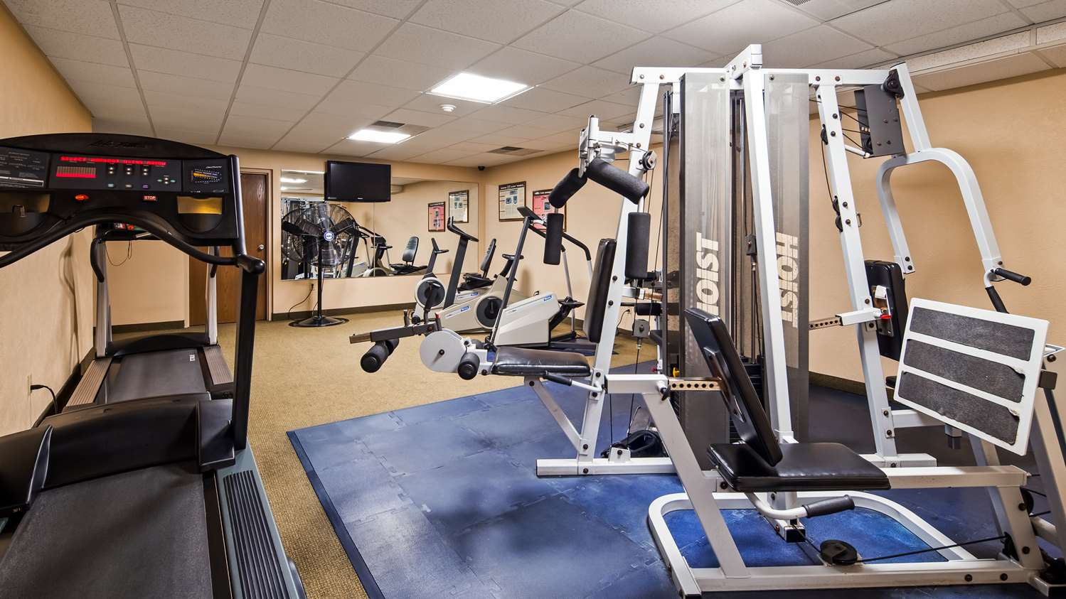 Fitness/ Exercise Room - Best Western Caldwell Inn