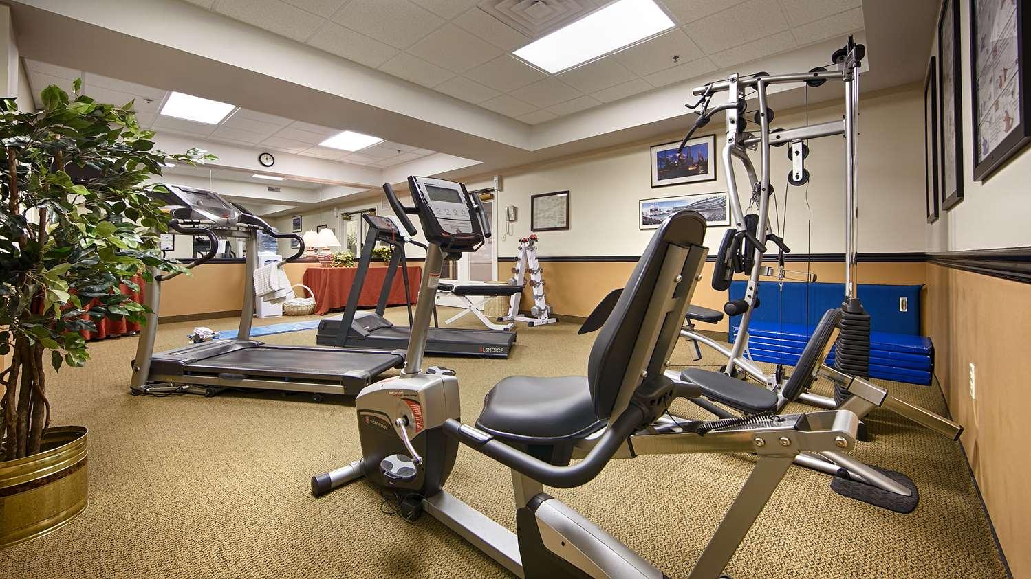 Fitness/ Exercise Room - Best Western Plus Lawnfield Inn & Suites Mentor