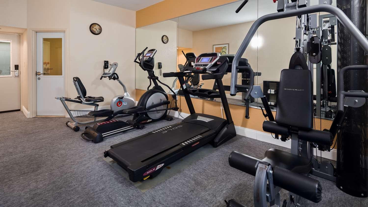 Fitness/ Exercise Room - Best Western Monroe Inn
