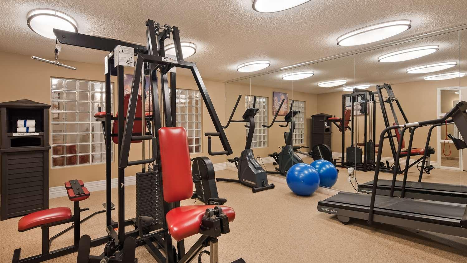 Fitness/ Exercise Room - Best Western Inn Okmulgee