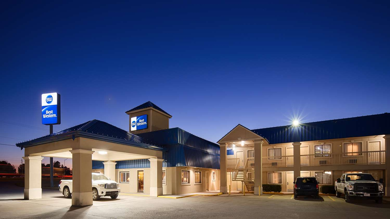 Exterior view - Best Western Inn of McAlester