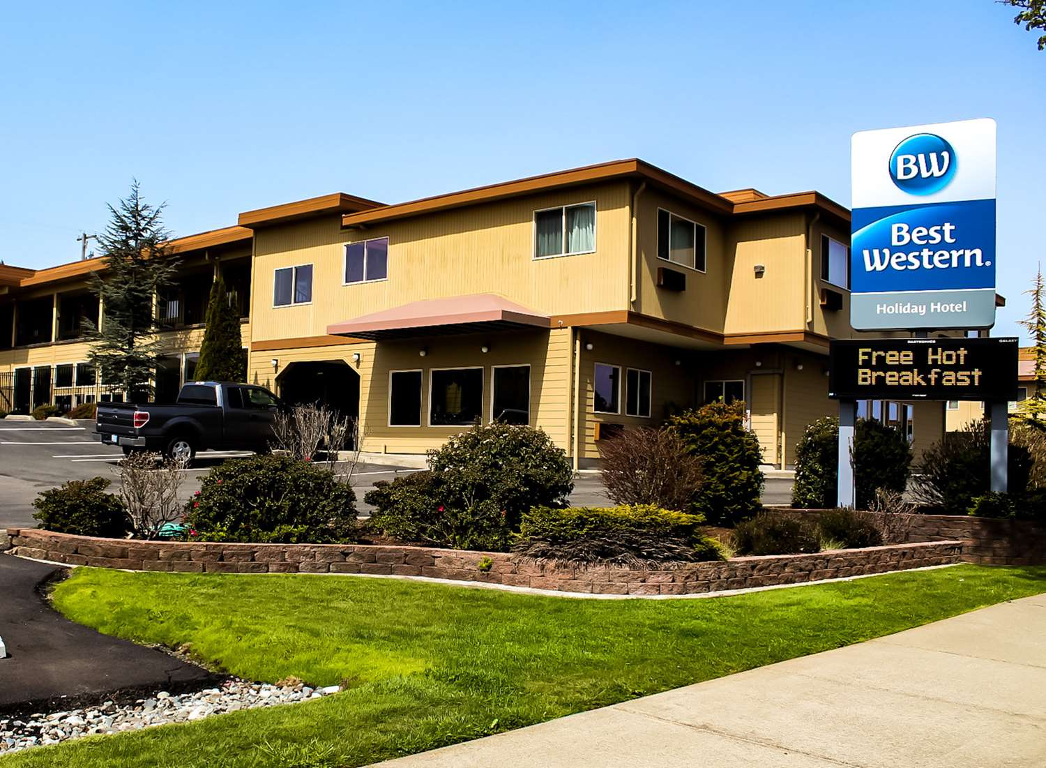Exterior view - Best Western Holiday Hotel Coos Bay