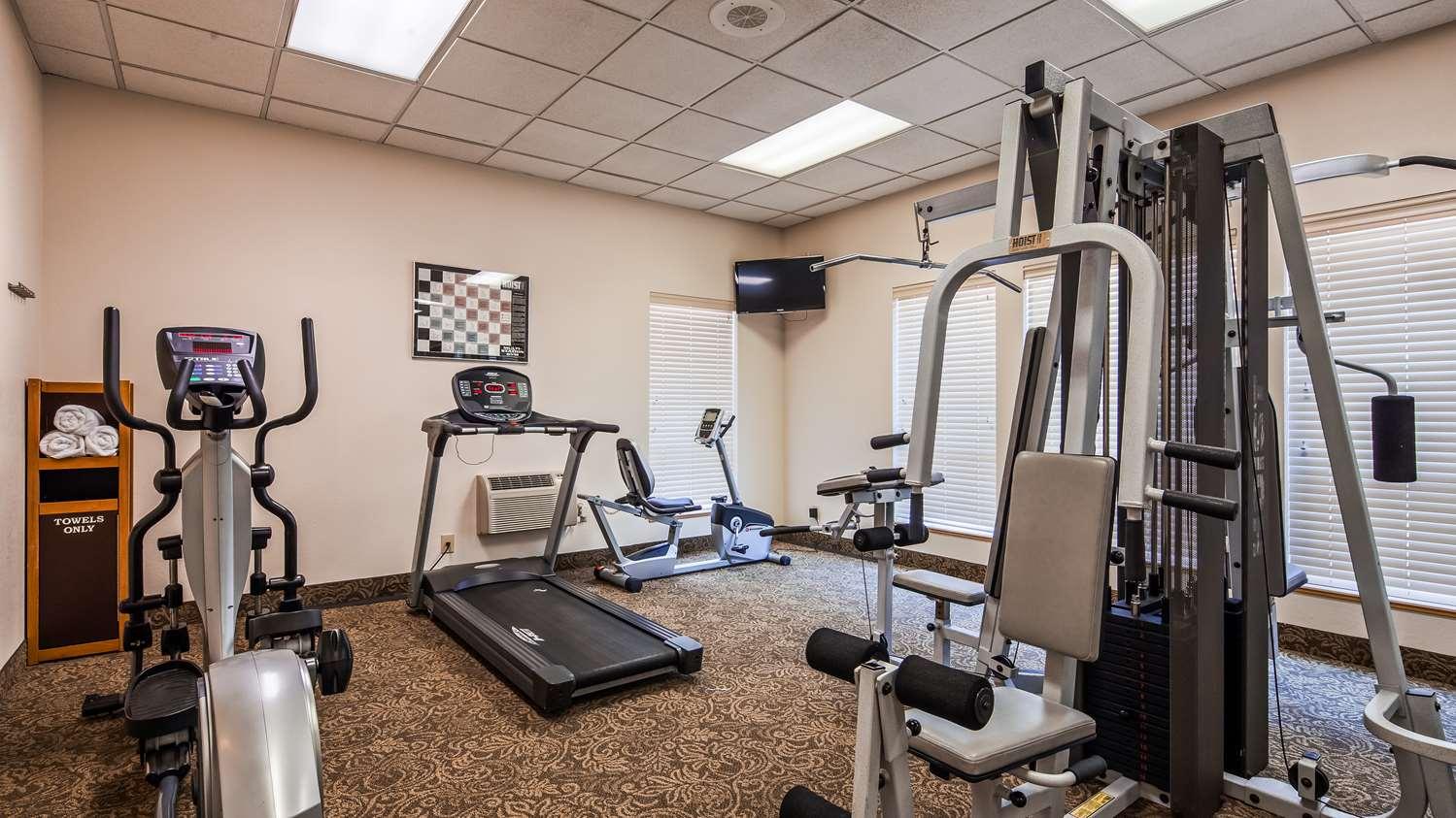 Fitness/ Exercise Room - Best Western Pacific Highway Inn Salem
