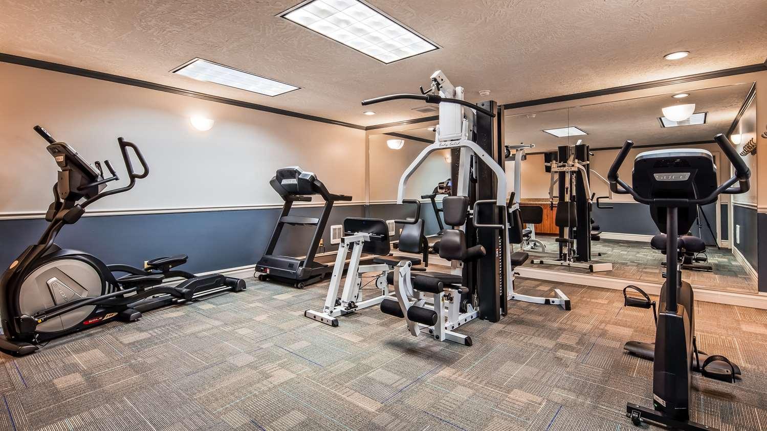 Fitness/ Exercise Room - Best Western Pier Point Inn Florence