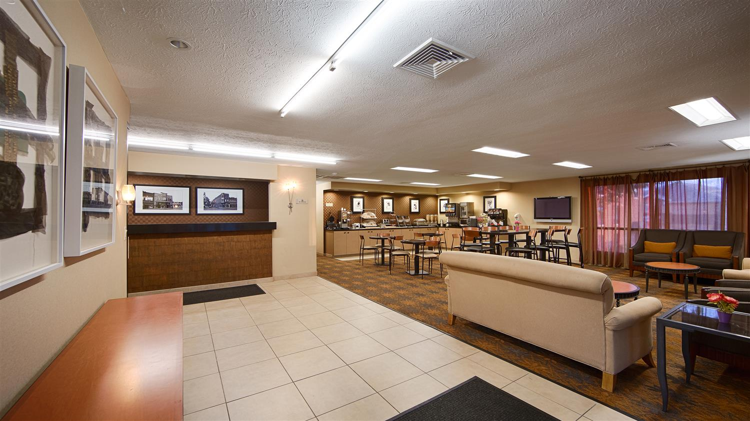 Lobby - Best Western Inn & Conference Center DuBois