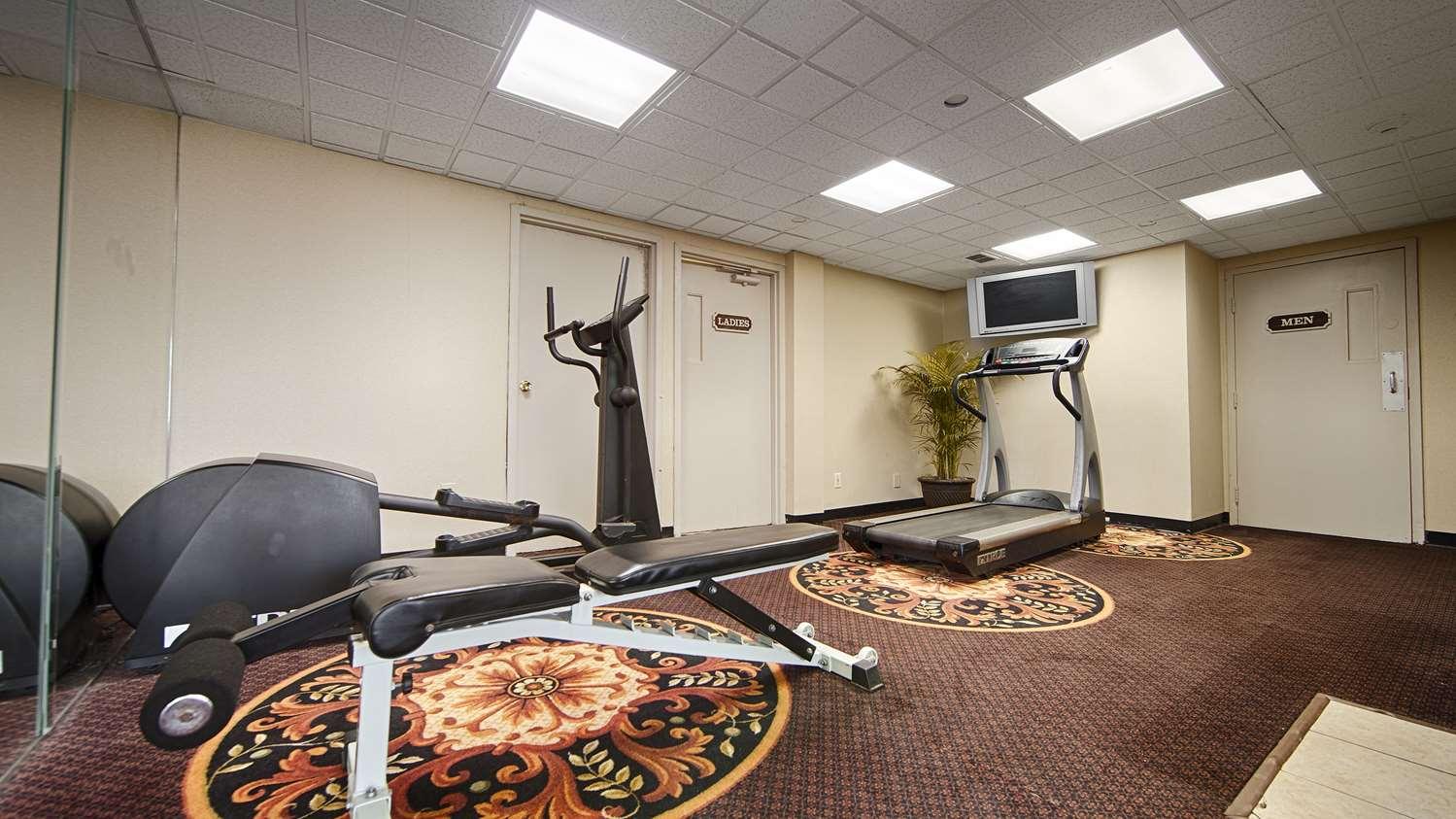 Fitness/ Exercise Room - Best Western Inn at Hunt's Landing Matamoras