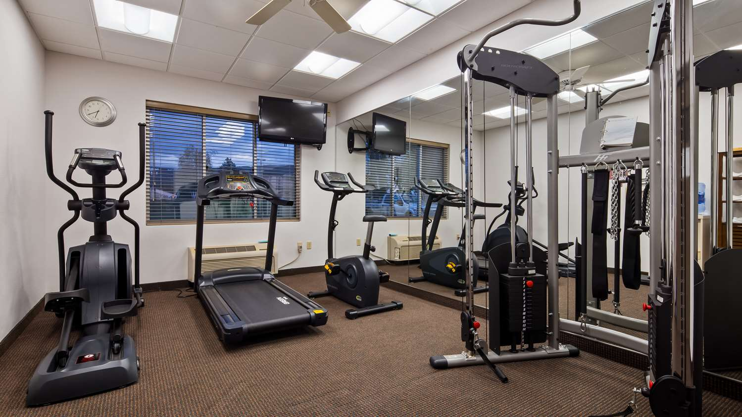 Fitness/ Exercise Room - Best Western Hotel Lock Haven