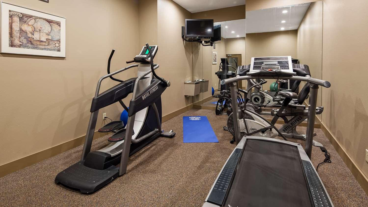 Fitness/ Exercise Room - Best Western Chambersburg Hotel