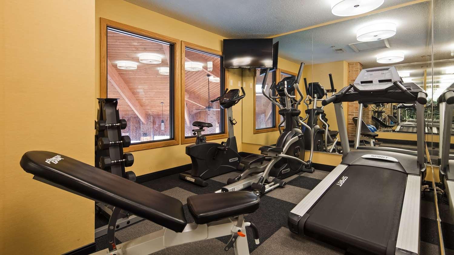 Fitness/ Exercise Room - Best Western Hotel Shippensburg