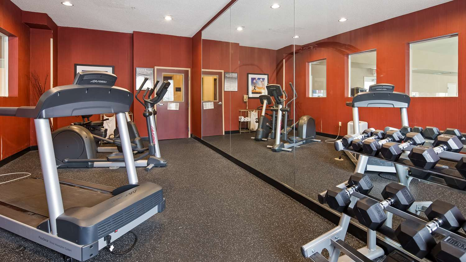 Fitness/ Exercise Room - Best Western Plus New Cumberland Inn & Suites