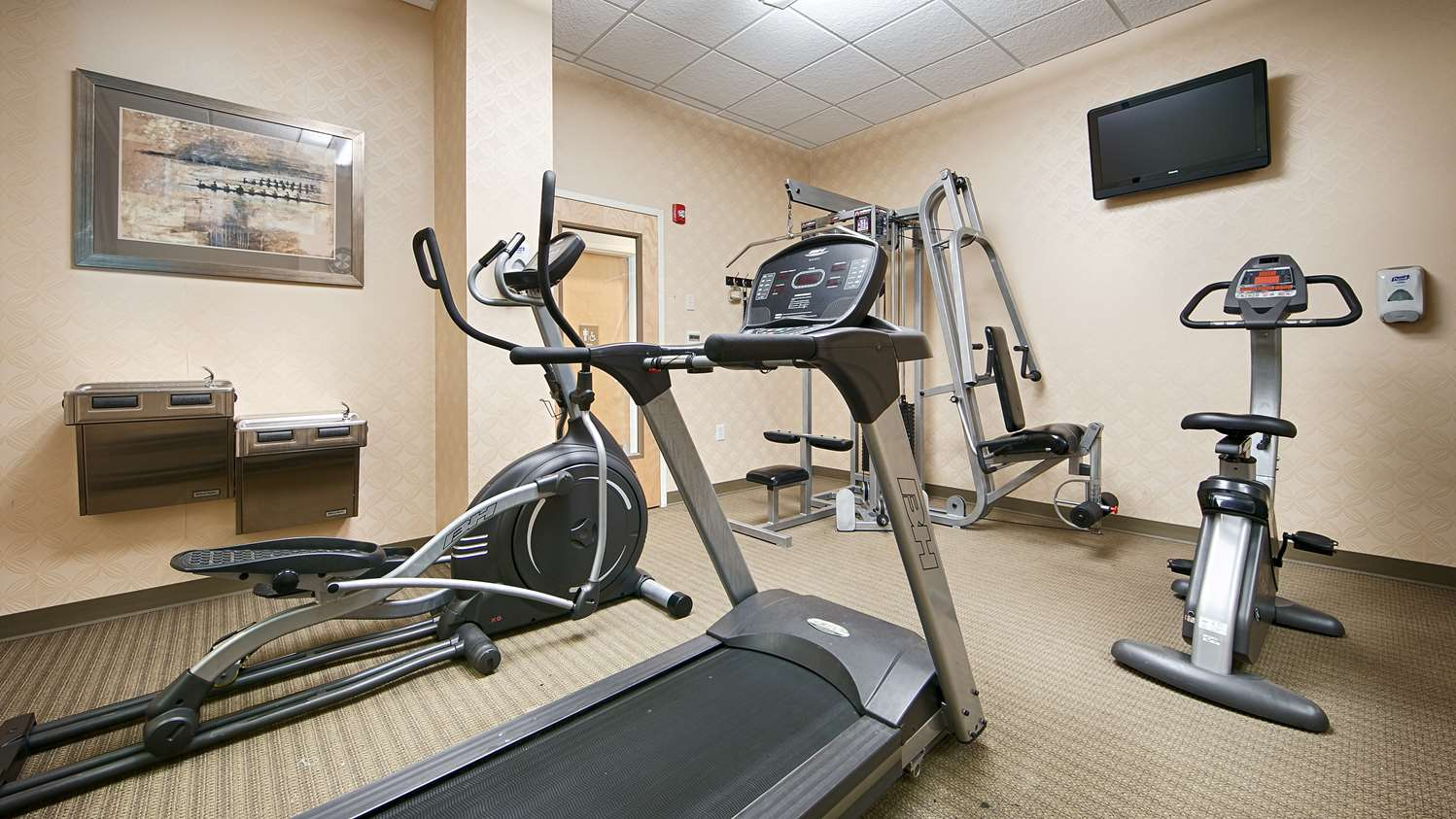 Fitness/ Exercise Room - Best Western Plus Philadelphia Airport South Hotel