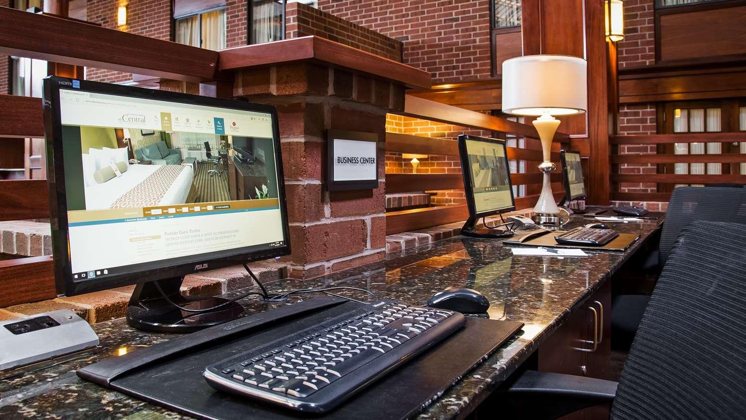 Conference Area - Best Western Premier Central Hotel Harrisburg