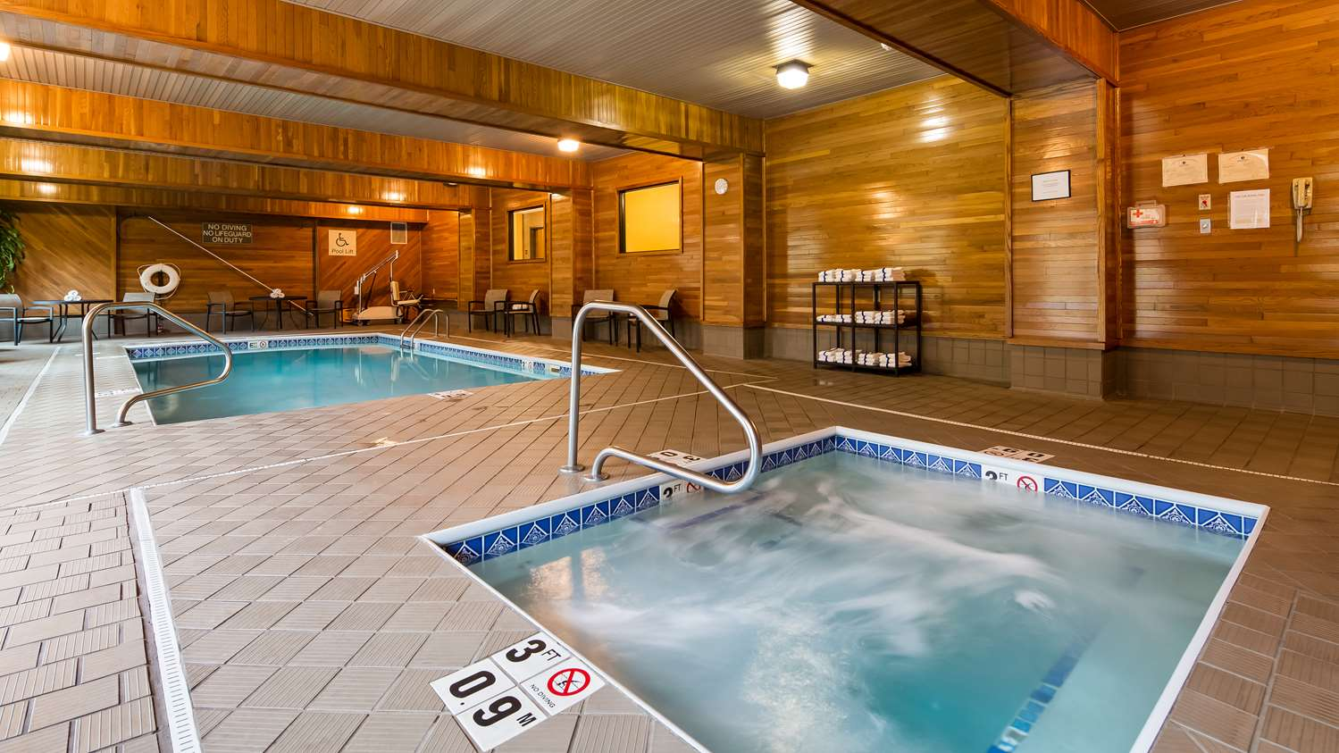 Pool - Best Western Plus Clearfield Hotel