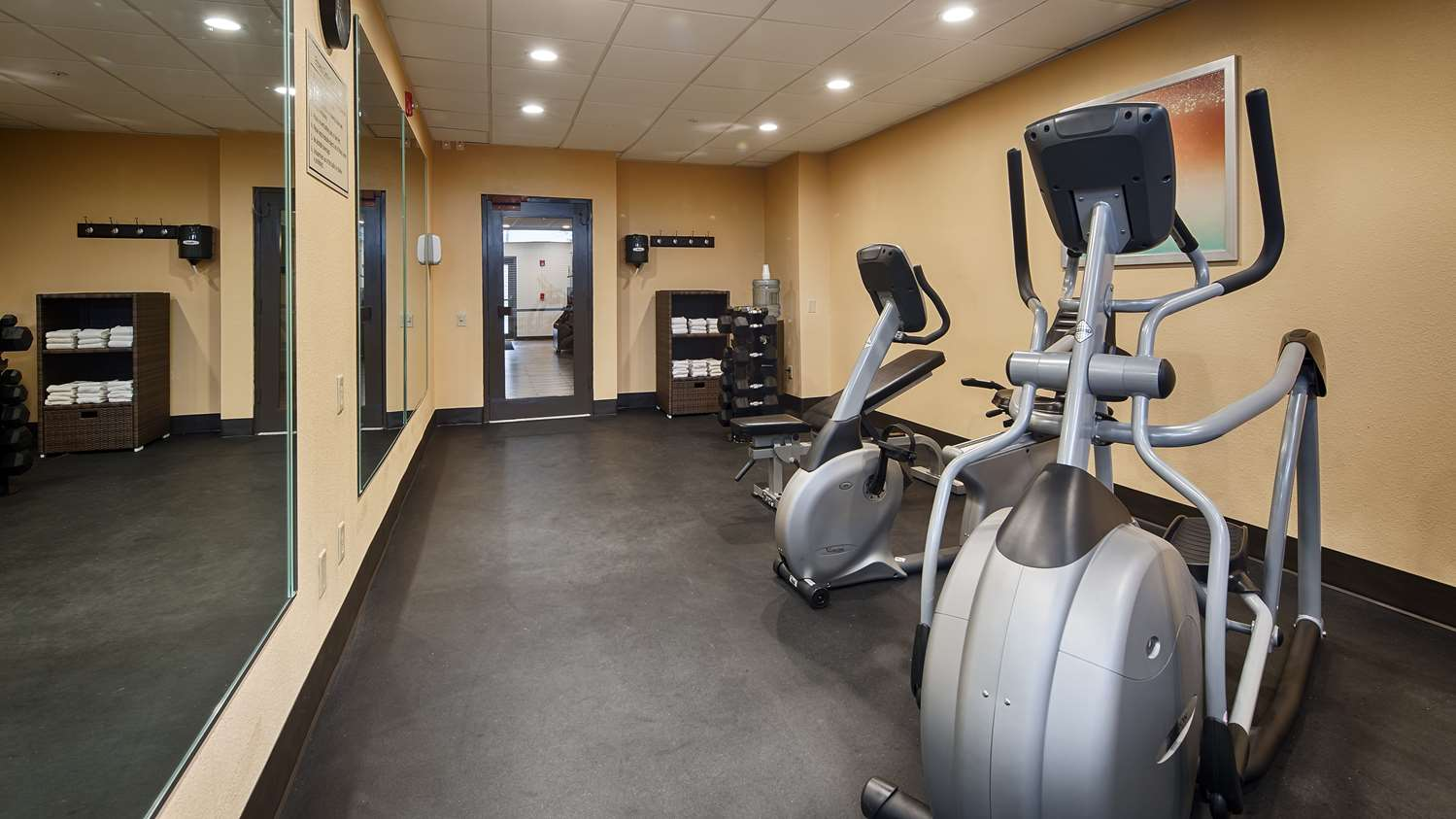 Fitness/ Exercise Room - Best Western Plus Harrisburg Hotel