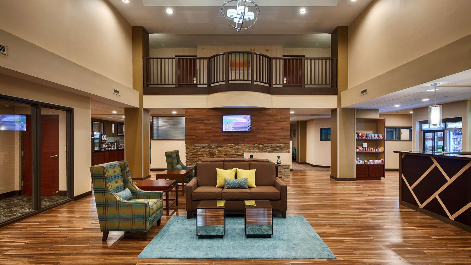 Lobby - Best Western Plus Harrisburg Hotel