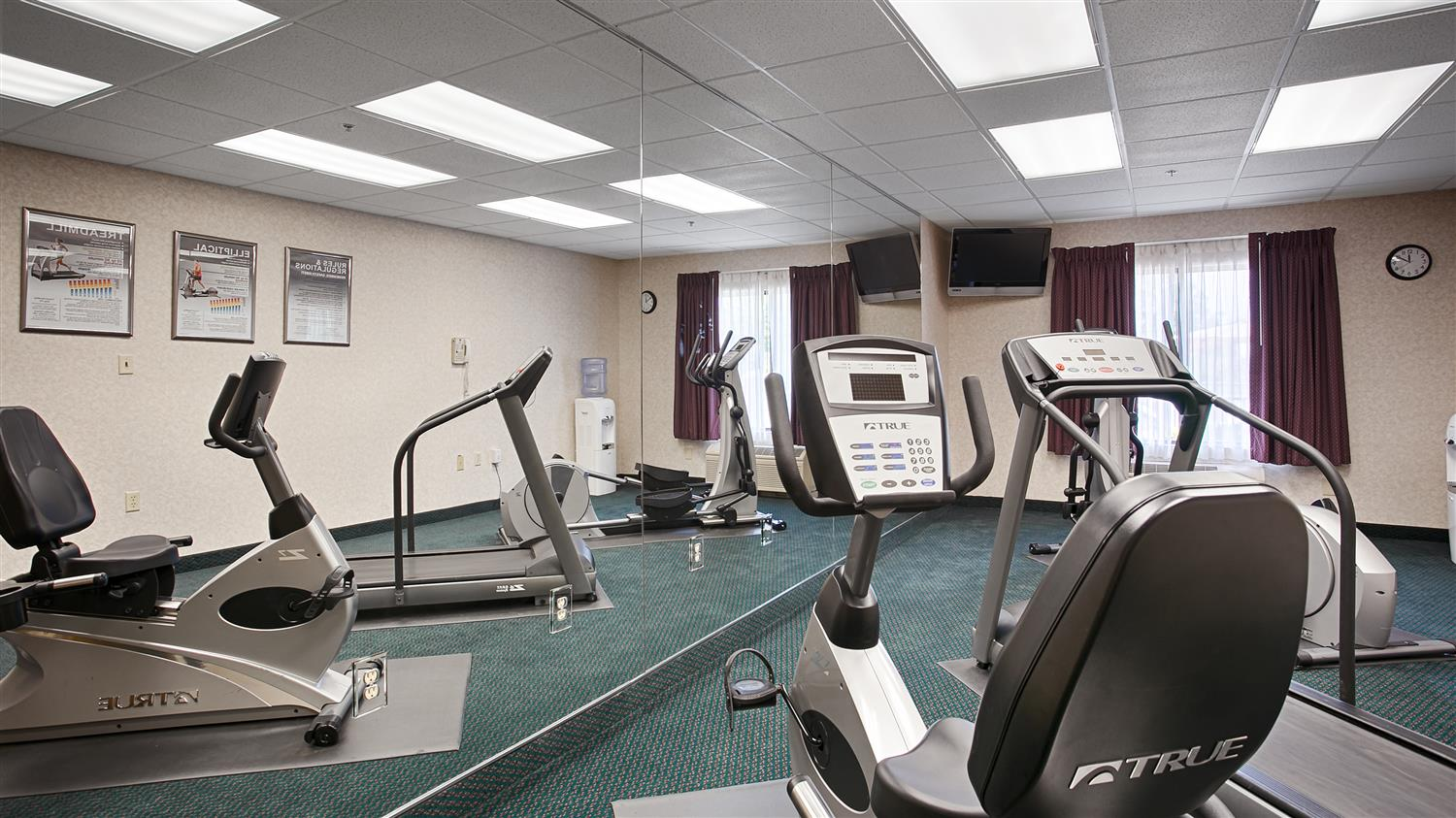 Fitness/ Exercise Room - Best Western Executive Inn & Suites Columbia