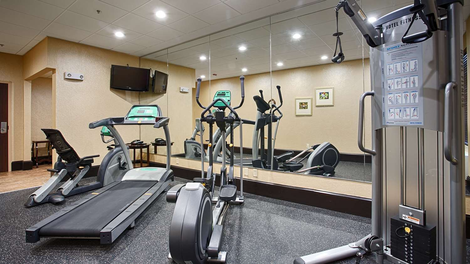 Fitness/ Exercise Room - Best Western Plus Northeast Columbia