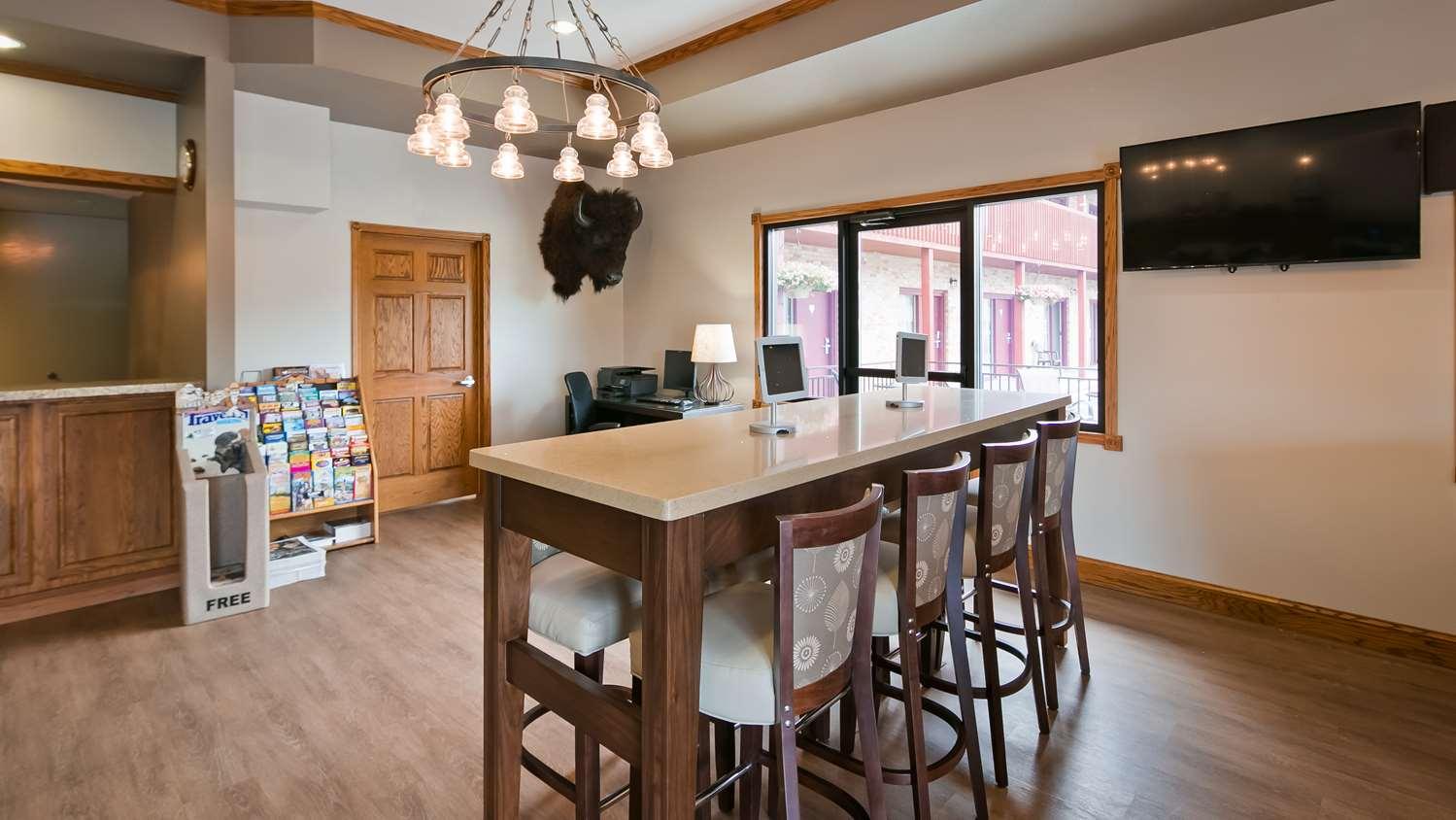 Conference Area - Best Western Buffalo Ridge Inn Custer