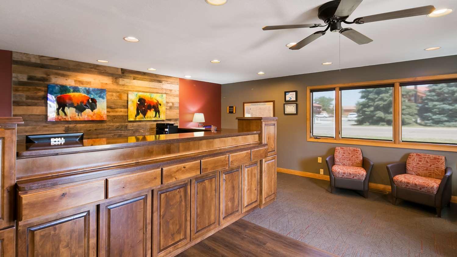Lobby - Best Western Graham's Inn Murdo