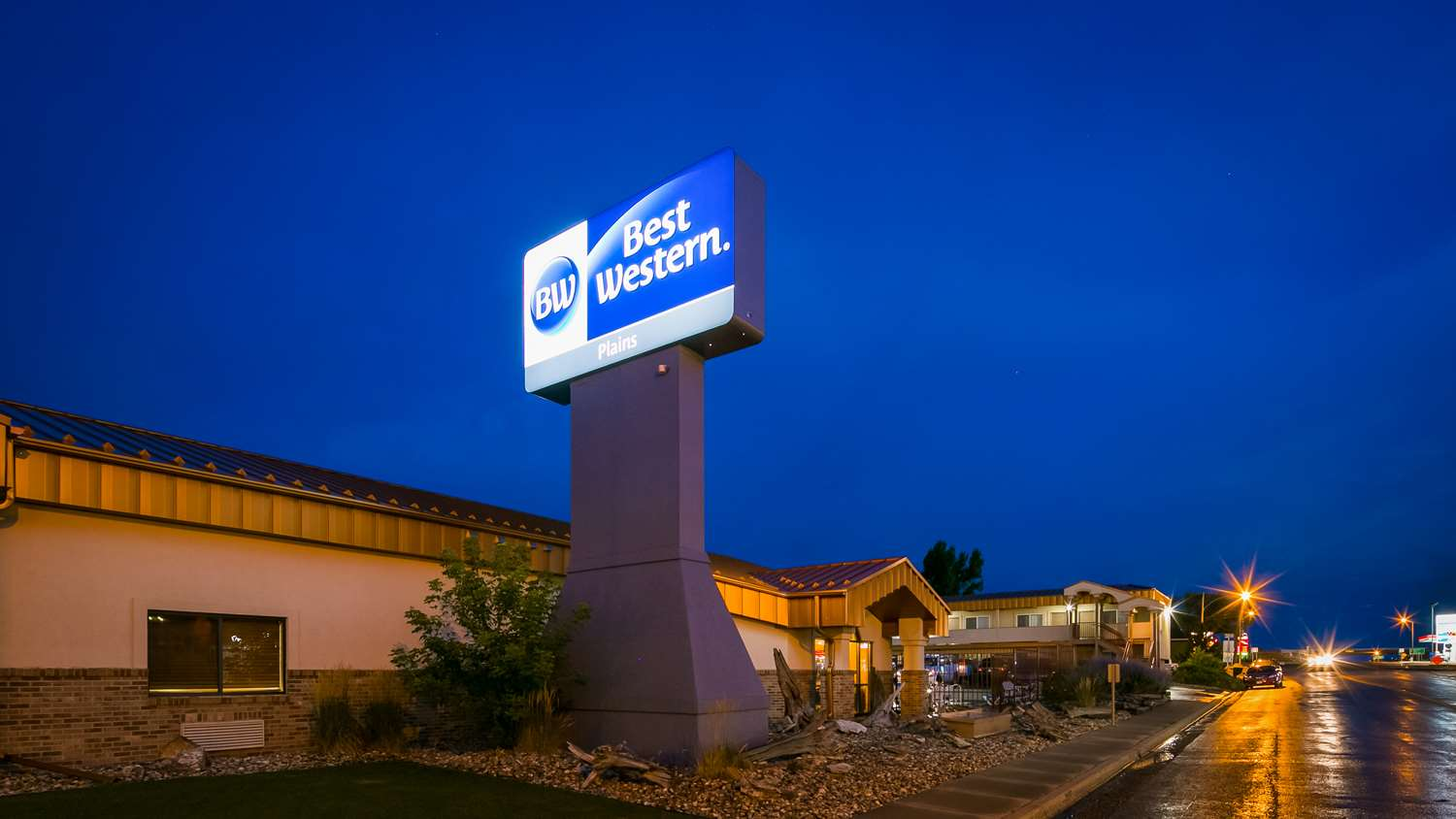 Exterior view - Best Western Plains Motel Wall