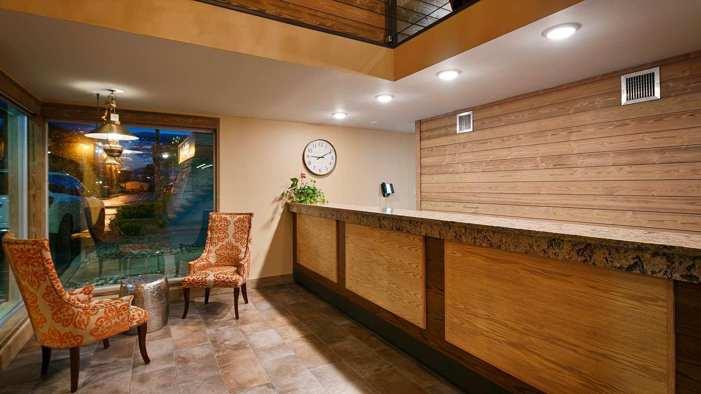 Lobby - Best Western Plains Motel Wall