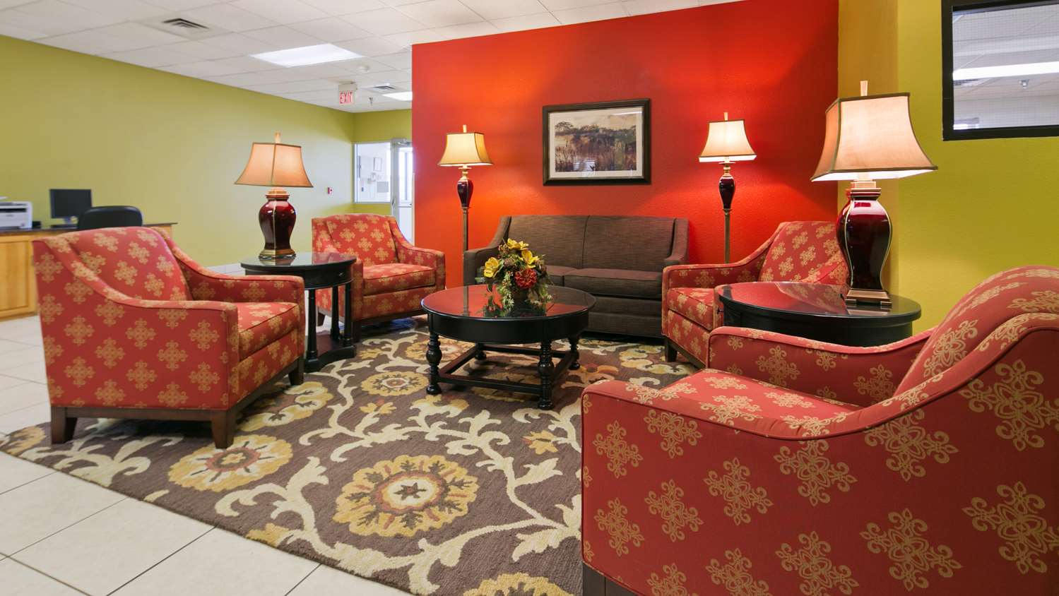 Lobby - Best Western Huron Inn