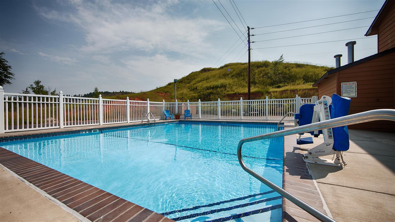 Pool - Best Western Black Hills Lodge Spearfish