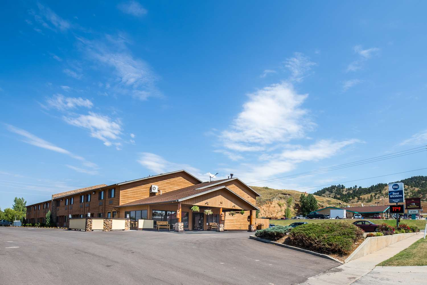 Exterior view - Best Western Black Hills Lodge Spearfish