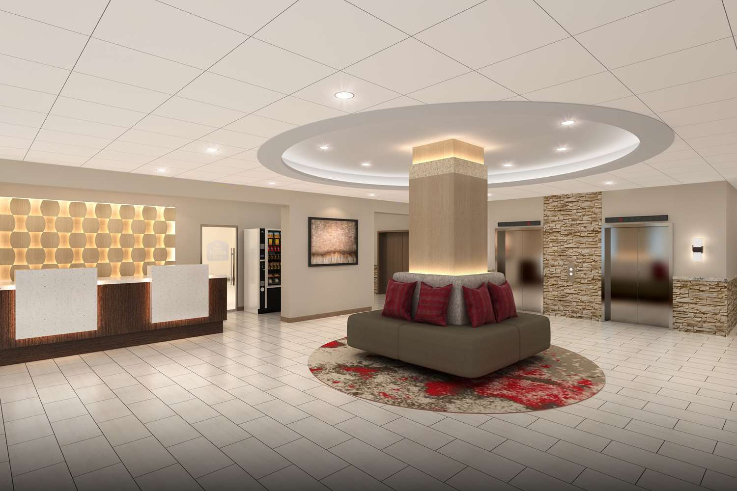 Lobby - Best Western Plus Music Row Hotel Nashville