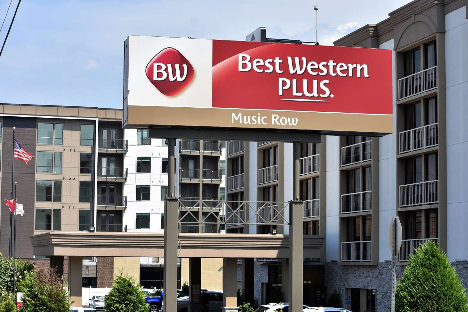Exterior view - Best Western Plus Music Row Hotel Nashville